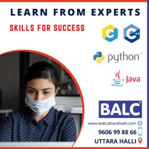balc uttarahalli computer training centre software training java training python training c programming